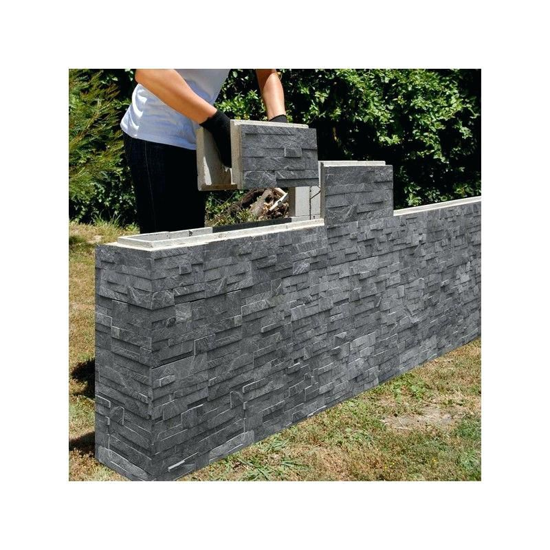 Blocks For Garden Wall Stack Stone Finish On A Retaining Wall Block For Garden Thermalite Bloc Concrete Retaining Walls Fence Gate Design Concrete Diy Projects