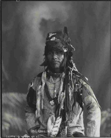 Cree man - circa 1890