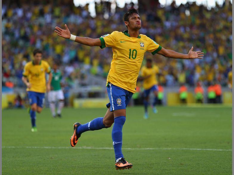 Football Neymar World Cup Brazil