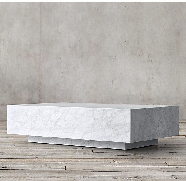 marble plinth coffee table furniture contemporary coffee table rh pinterest com