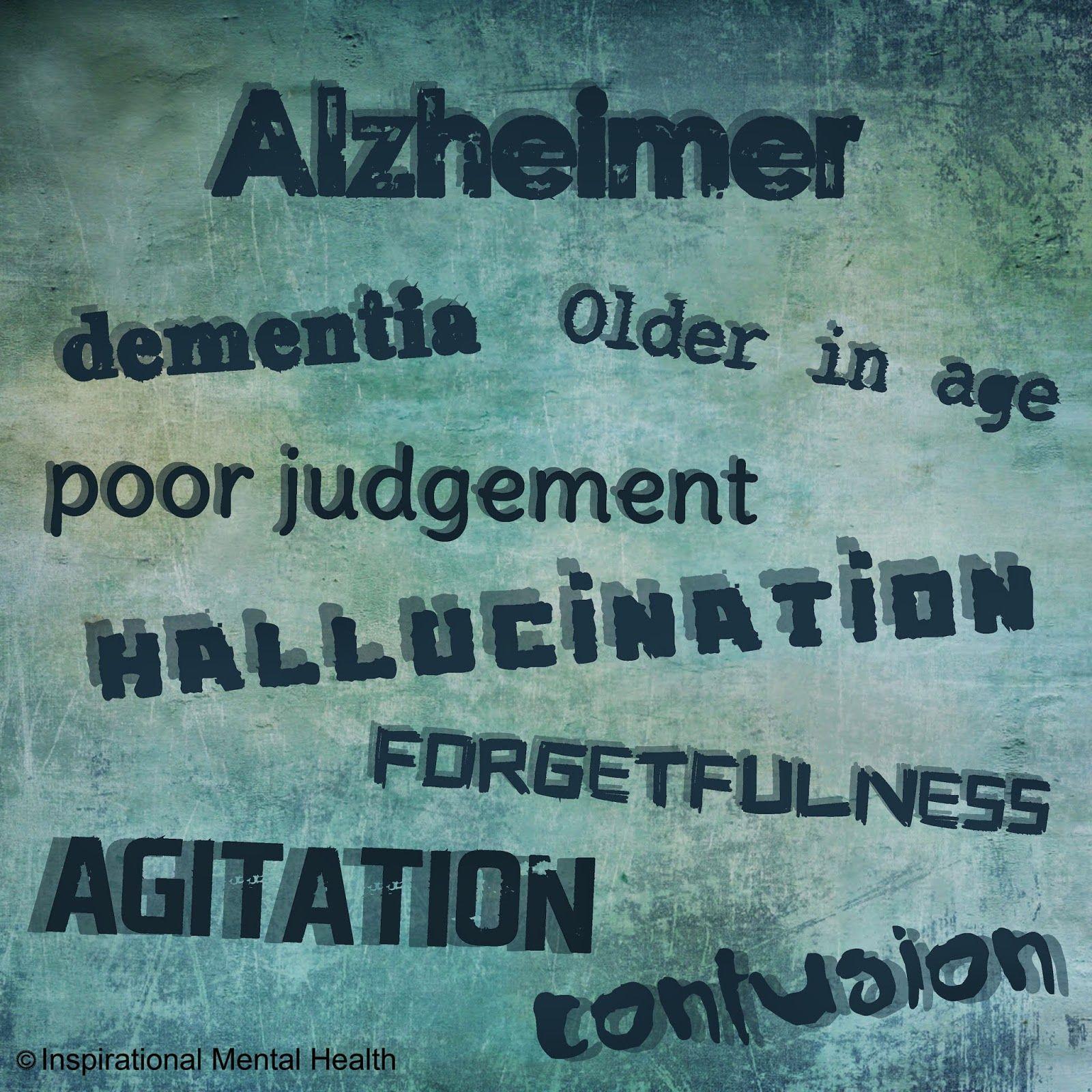 Alzheimer - Mental Disorders | Inspirational Mental Health | www.inspirationalmentalhealth.com