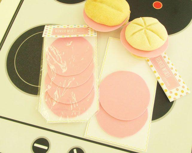 Küchenzubehör Kinderküche ~ Basteln für kinder: wurst basteln zubehör für kinderküche und
