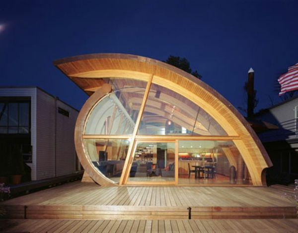 Des maisons du monde en formes uniques curvyglassgoogle searchbuildingdesignarchitecture modernele