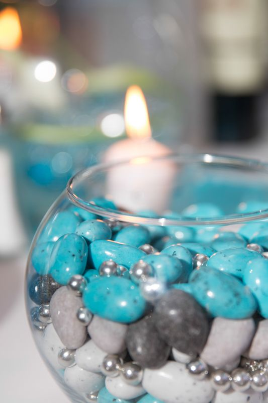 D coration mariage drag e bleu turquoise blanc et gris jenny 39 s photographe de mariage en r gion - Deco cuisine bleu turquoise ...