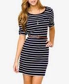 Belted Striped Dress | FOREVER 21 - 2027704492