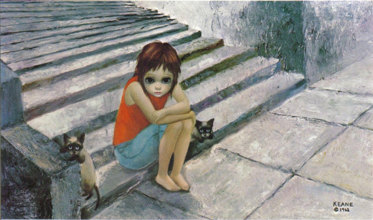 """""""Out After Dark"""" ~ Margaret Keane, 1962"""
