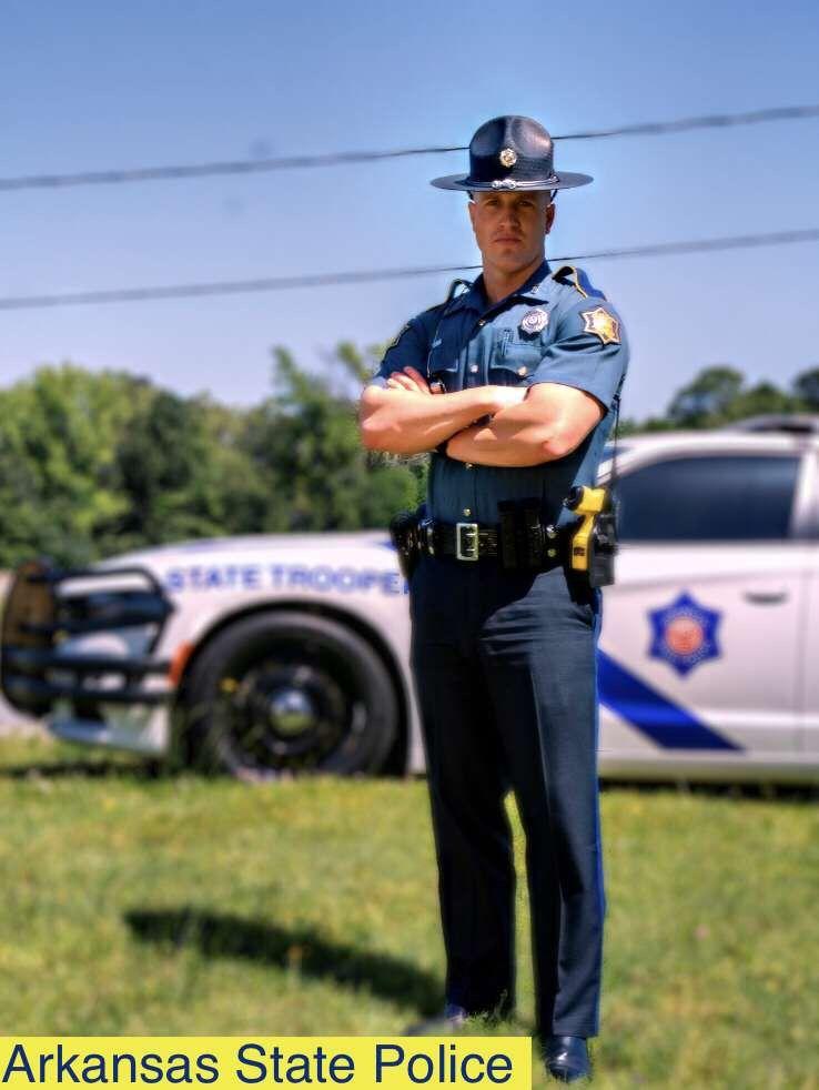 Arkansas State Police Highway Patrol Trooper Men In Uniform Beefy Men State Police