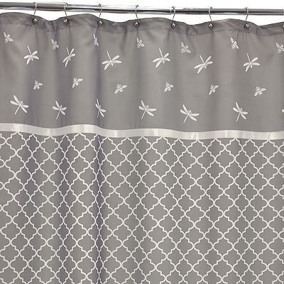 Waverly Buzzing About Shower Curtain With Images Gray Shower