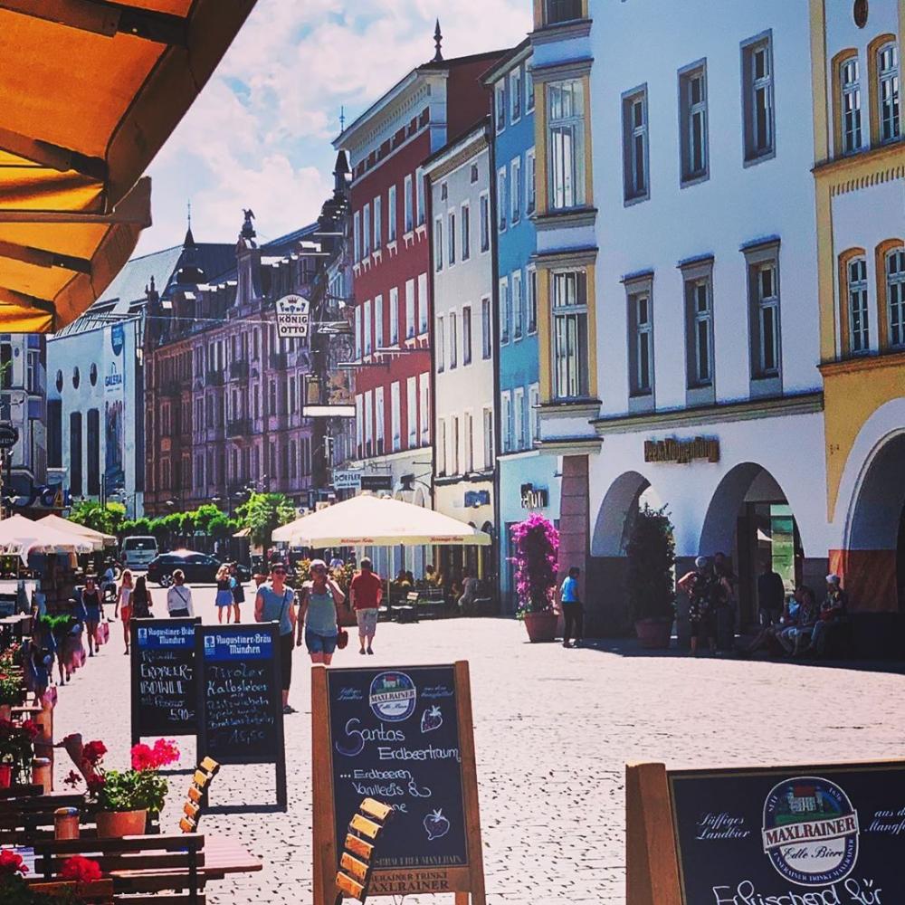 Rosenheim Sommer In Der Stadt Instagram In This Moment Bavaria