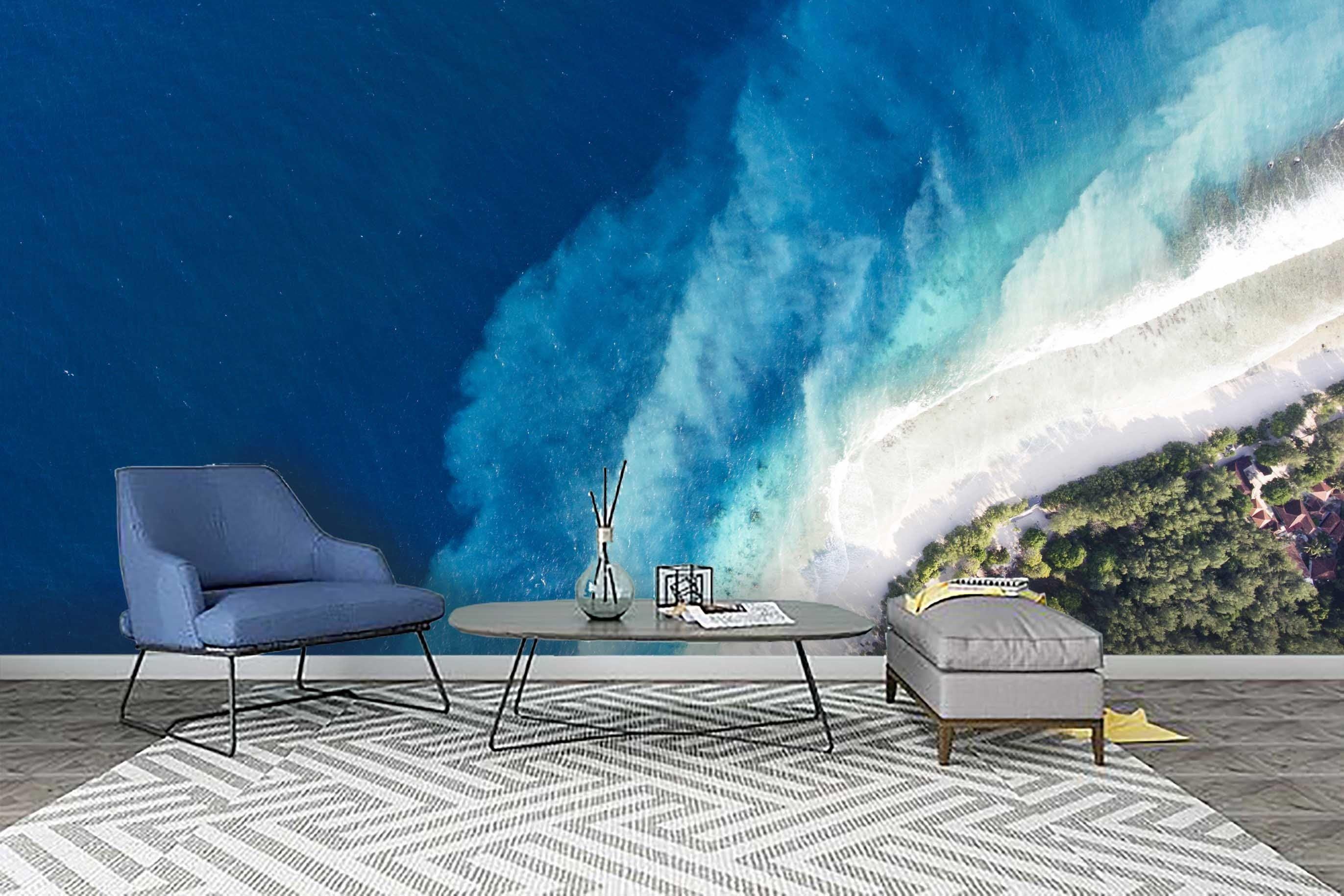 Papier Peint 3d Wall Wallpaper Sale 80 Waves Wallpaper Mural Wallpaper Island Wallpaper