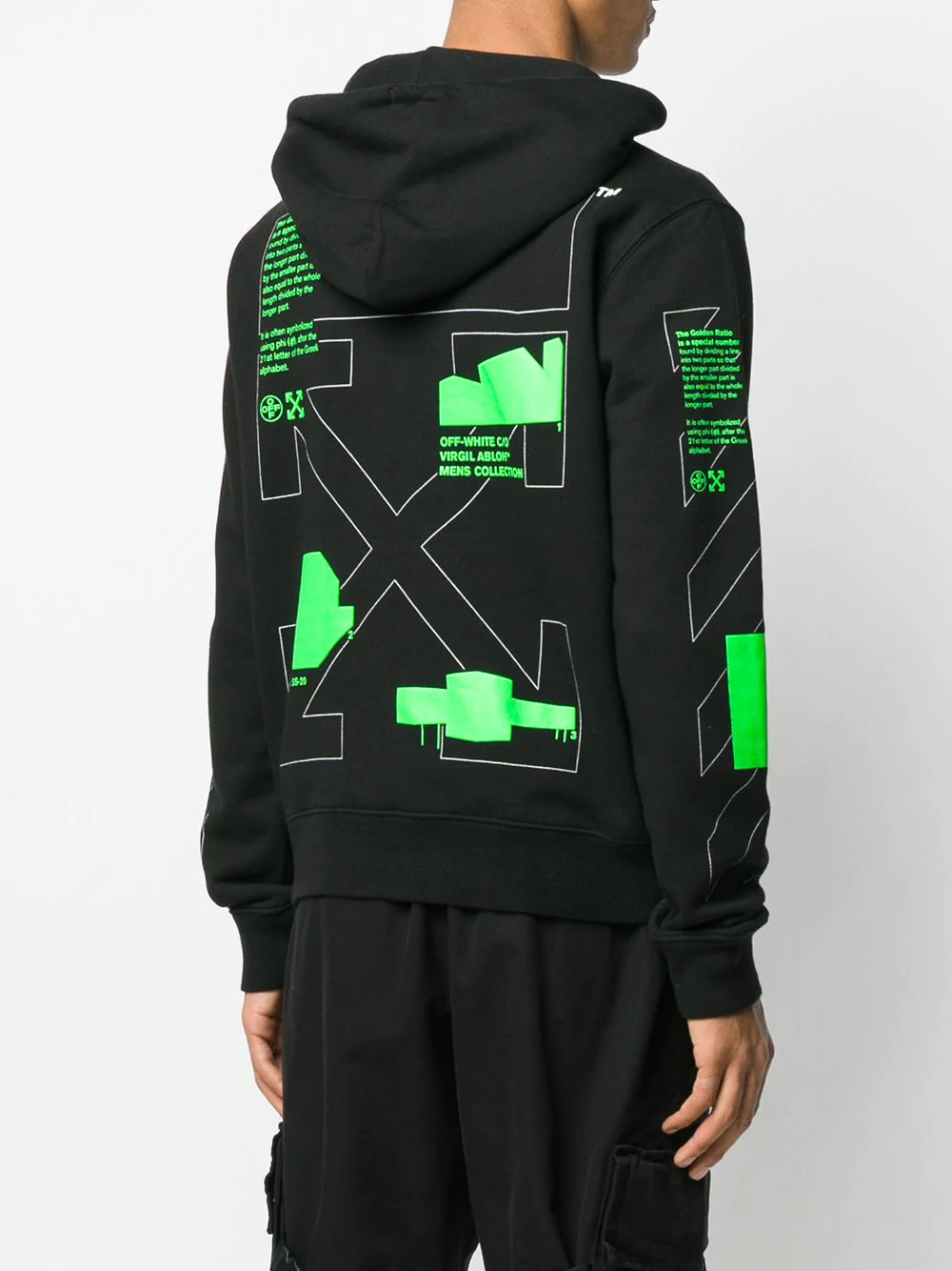 Off White 3d Crossed Off Hoodie Farfetch Off White Clothing Off White Hoodies [ 1334 x 1000 Pixel ]