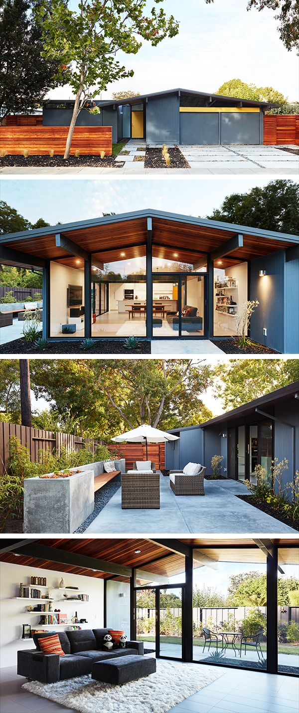 Palo alto eicher remodel by klopf architecture in california usa also best inspiring homes images rh pinterest