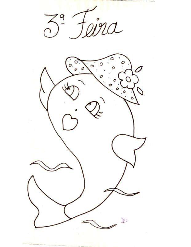 peixinha com chapéu