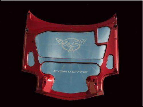 C5 Corvette Engine Dress Up Corvette Corvette Engine Stainless Steel Hood