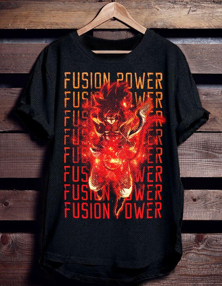Dragon Ball GT gogeta SSJ4 Fusion Tshirt | Displate thumbnail