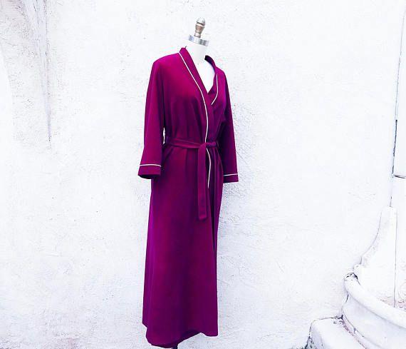 Vintage 70s Robe Warm And Cozy Wrap Around Vanity Fair Long Vintage Outfits Cozy Wrap Vintage 70s