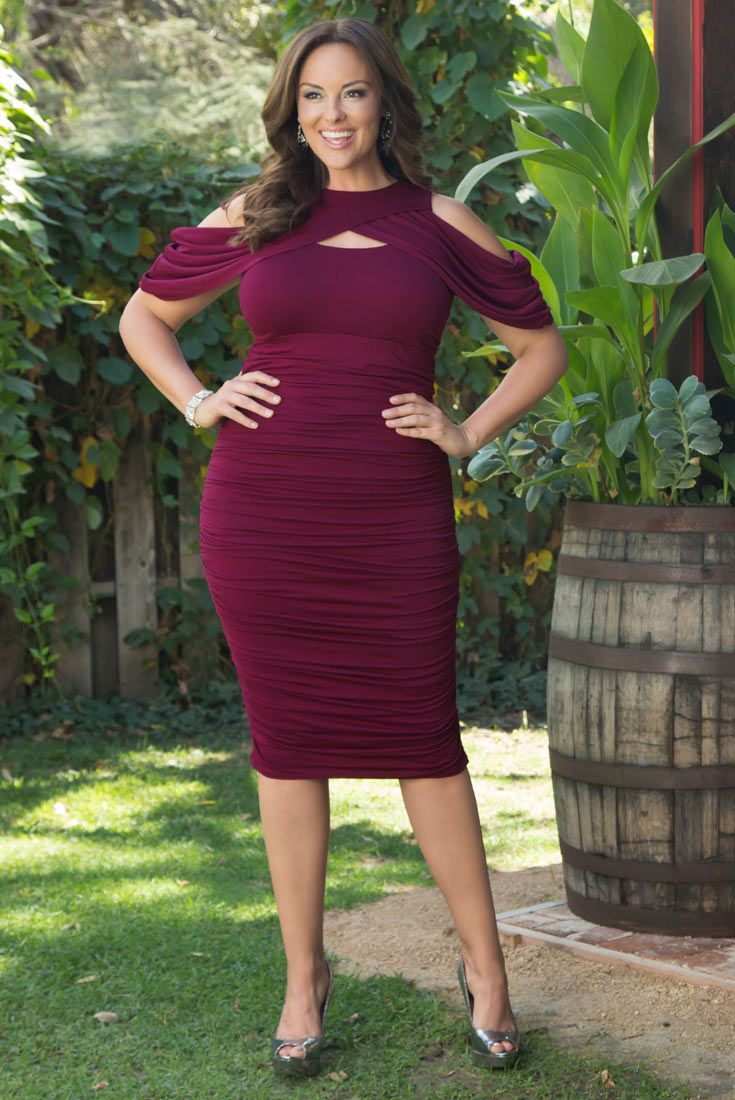 show off your curves this season in our plus size bianca ruched