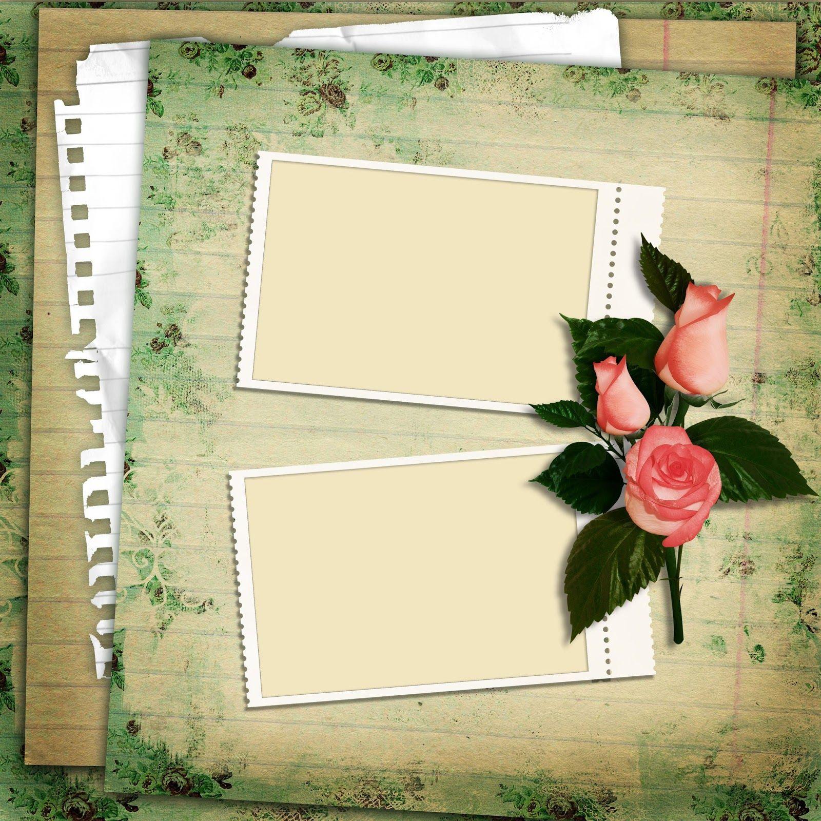 Notas para escribir tus mensajes con rosas | BANCO DE IMÁGENES Y ...