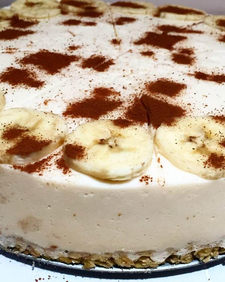 Slimming World Banoffee Cheesecake