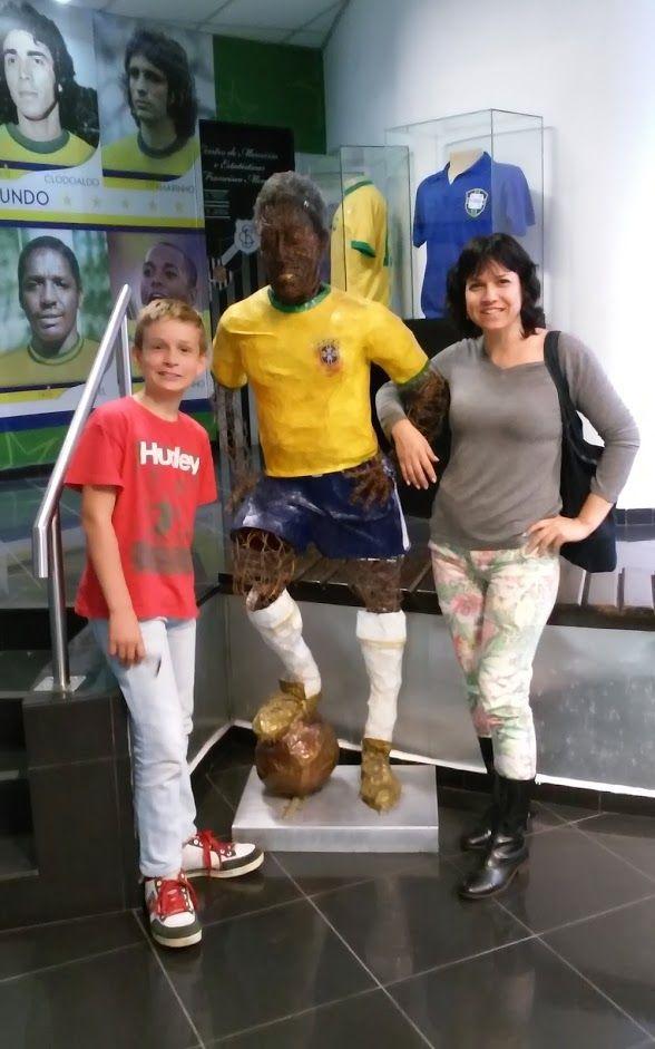 museu do futebol em Santos SP