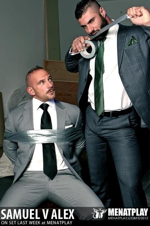 Suit gay yummy guys photo