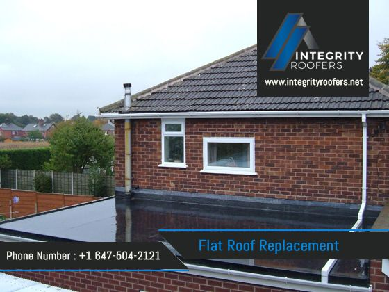 When a roof leaks, you need to fix it quickly. Water leakage can make extreme harm the structure and destroy the substance inside. Our flat roof replacement services give you full satisfaction.For more details visit the website : http://www.integrityroofers.net/