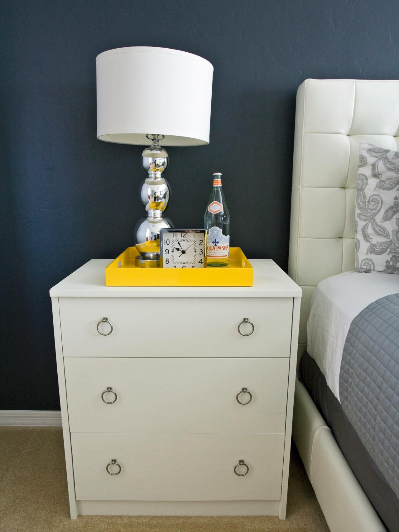Tips For A Clutter Free Bedroom Nightstand - Bedroom Decorating Ideas