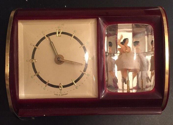 Vintage Staiger Musical Ballerina Alarm Clock Ebay Unique Alarm Clocks Clock Alarm Clock
