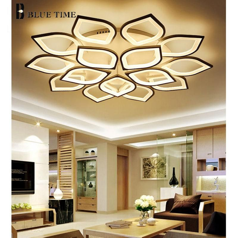 Modern New Design Ceiling Led Lights For Living Room Study Room Bedroom Lampe Plafond Avize