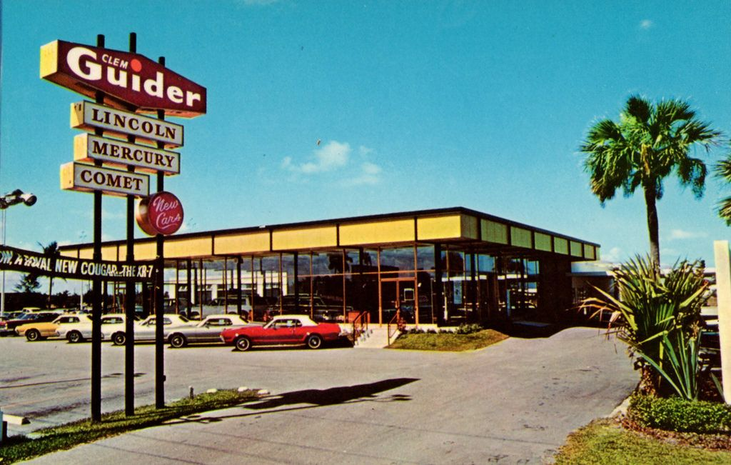 1967 Clem Guider LincolnMercury Dealership, West Palm