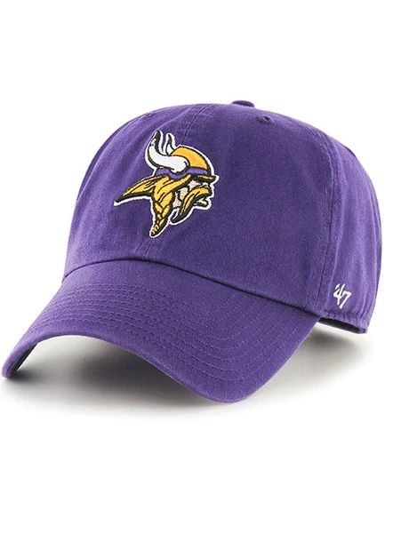 Vikings 47 Brand Clean Up Adjustable Hat Minnesota Vikings Viking Hat Nfl Fans