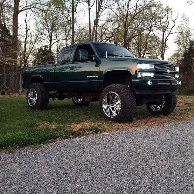 Pin On Lifted Chevy