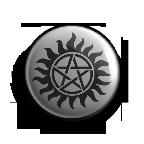 Supernatural AntiPossession Tattoo Badge Supernatural
