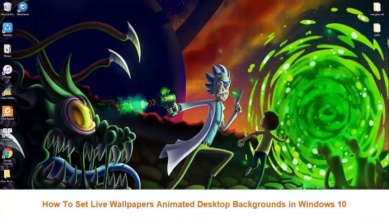 Set Live Wallpapers Animated Desktop Backgrounds In