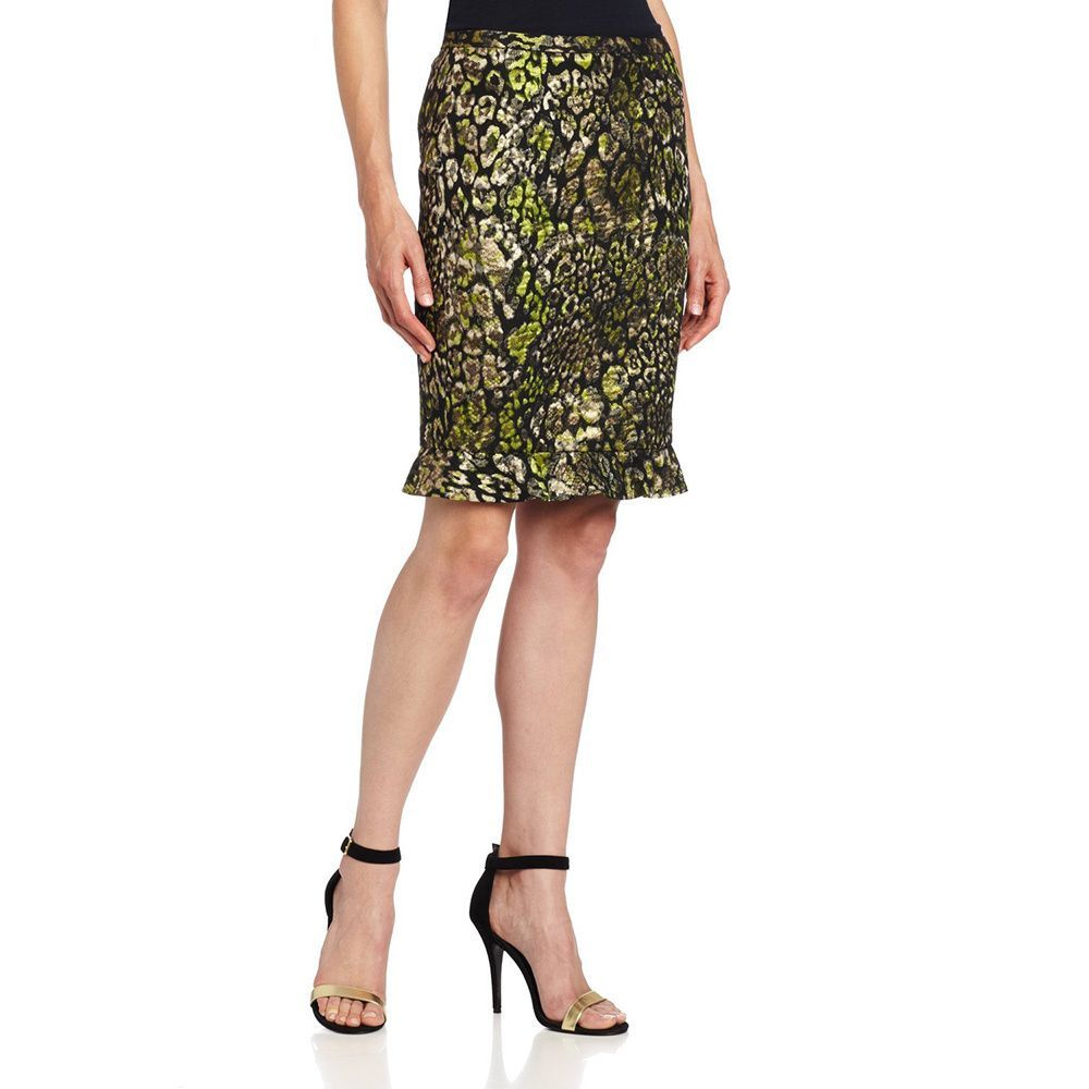 e1c97af856f27 Elie Tahari Womens' Ruth /Cotton Jacquard Skirt, Women's | Products ...