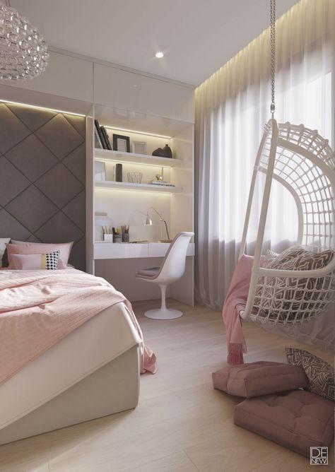 65 süße Teenie Schlafzimmer Ideen die Sie umhauen werden # Ideen #niedli #teenagegirlbedrooms