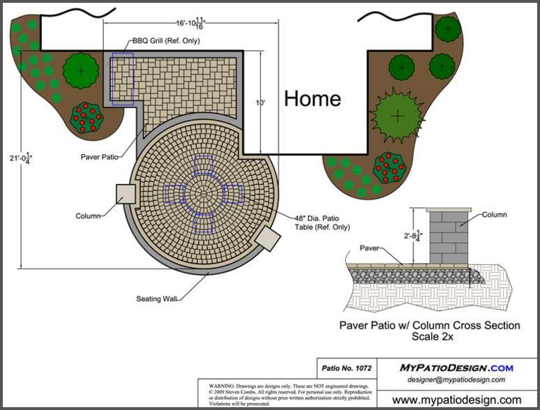 Patio Design for Small Area