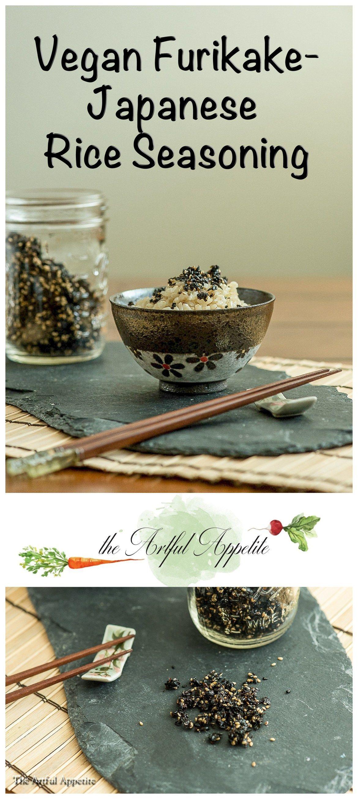 Vegan Furikake | Japanese Rice Seasoning #seasonedricerecipes