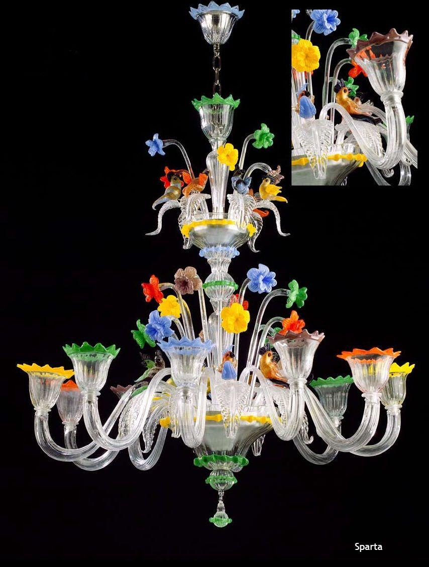 Murano Glass SPARTA Chandelier