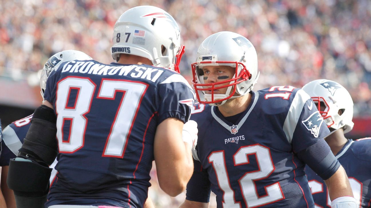 Tom Brady S Love Affair With His Tight Ends A Stats Story New England Patriots Patriots Gronkowski