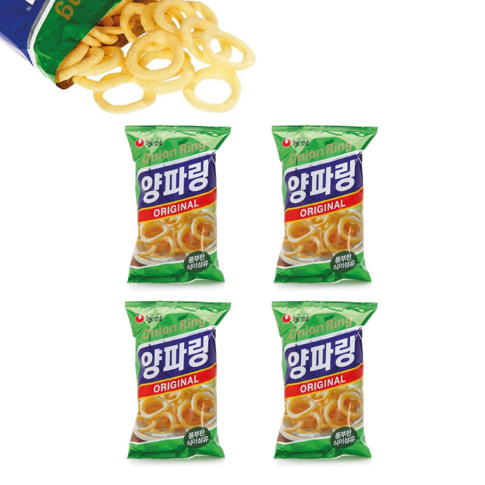 Details about NongShim Onion Flavored Rings 84g- 4PCS in ...