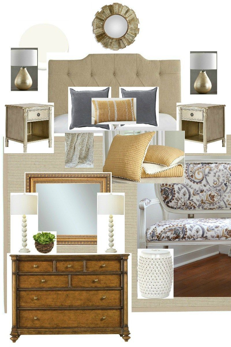 Master bedroom interior design plan  MASTER BEDROOM PLANS Hereus a little peek at the mood board and