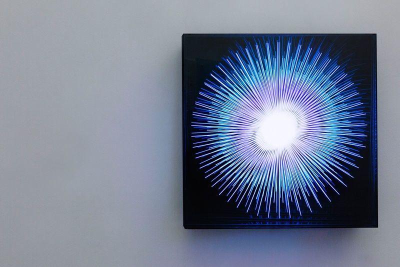 Explosion Metall Spiegel Plexiglas Led Computergesteuert Ankauf Mak Museum Fur Angewandte Kunst Koln 2015 Infinity Mirror Mirror Light