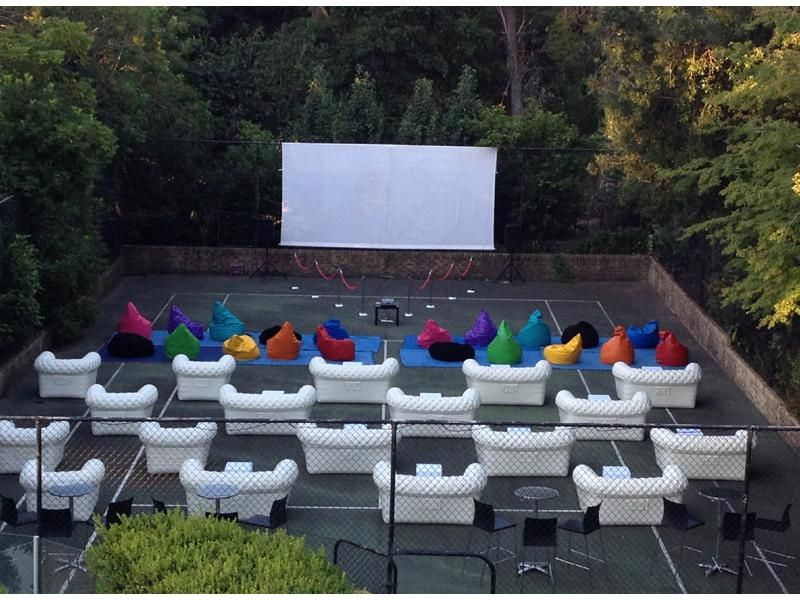 Bean Bag Outdoor Cinema Outdoor Furniture Sets Outdoor