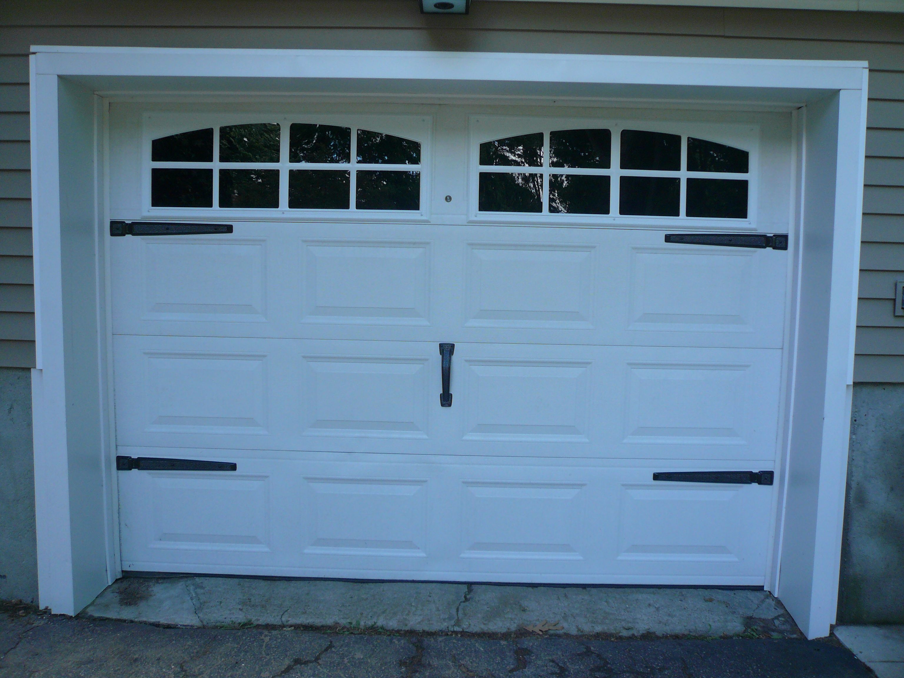 View ex&les of our Coach House garage door accents in customer submitted photos. & View examples of our Coach House garage door accents in customer ...
