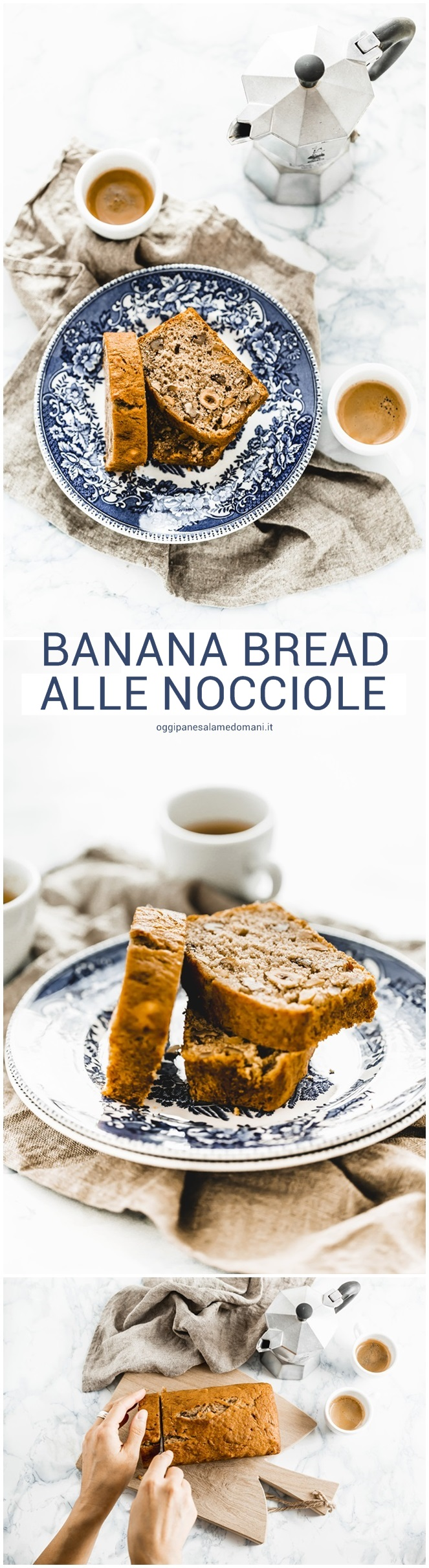 Banana bread alle nocciole   Recipe   Salame, Food styling and Food ...