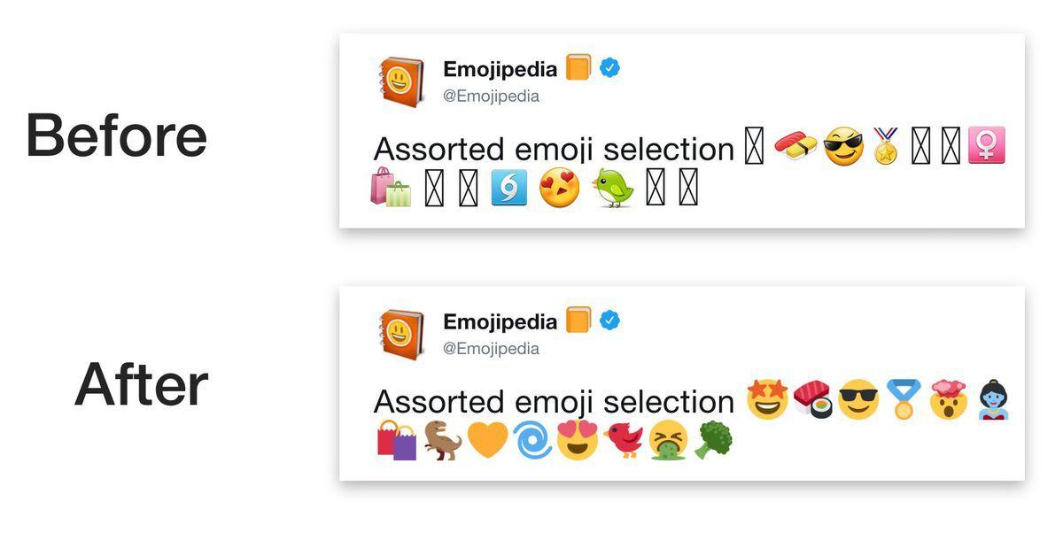 Twitter For Android Is Getting Its Own Emoji Because Of Fragmentation Emoji Emoji Set Android Emoji