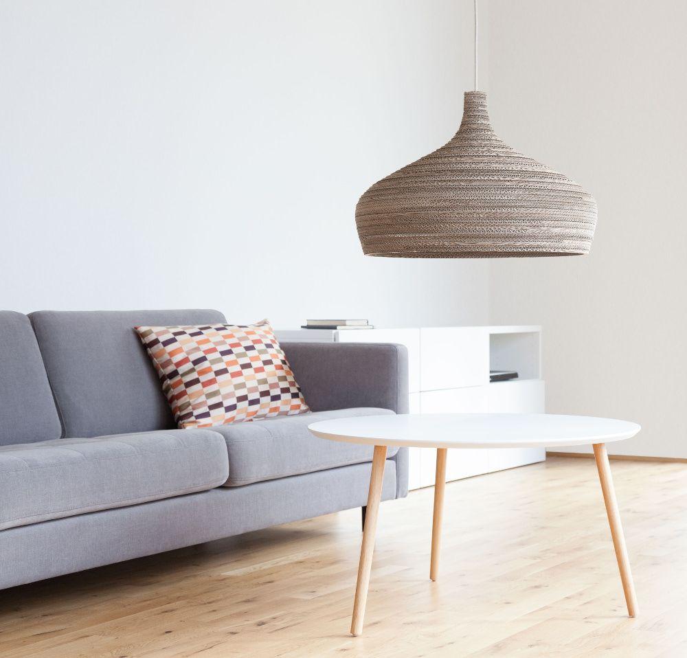 Cardboard Lampshades Carton Lumineux Par Pierre Guibert