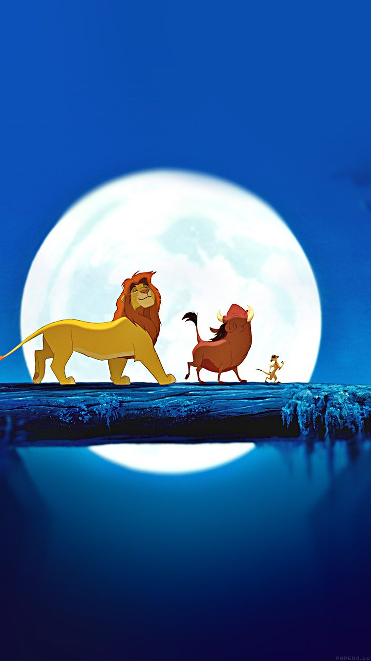 IPhone6papersco Apple IPhone 6 Iphone6 Plus Wallpaper Ak89 Lionking Hakuna Matata Simba Disney Art