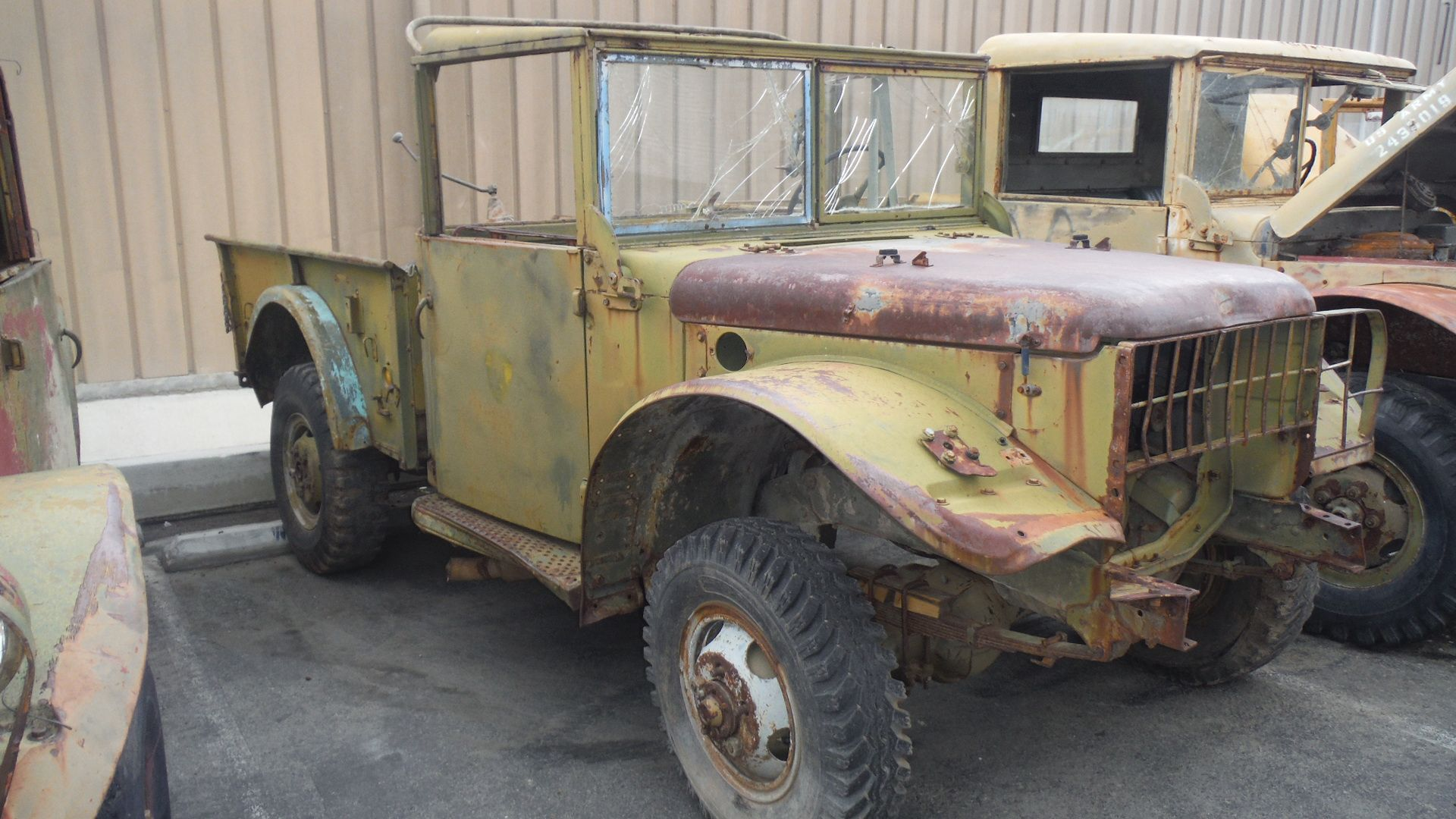 1850 1953 dodge m37 3 4 ton t 245 power wagon weapons carrier